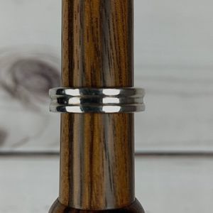 sterling band ring sz 8
